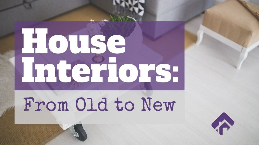 House Interiors From Old to New curated